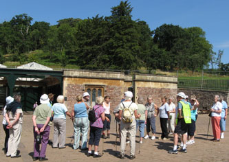 Photo of Nailsea Strollers at Ashton Court. July 08. Taken by Marion L.