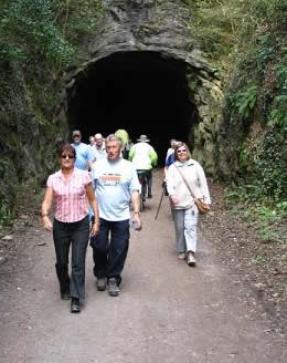 Photo of the North Somerset Strolloers on the Strawberry line